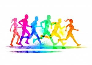 Animated runners